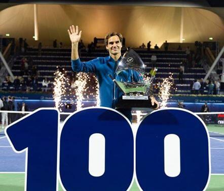 100 volte Federer. Lo svizzero batte Tsitsipas in finale a Dubai