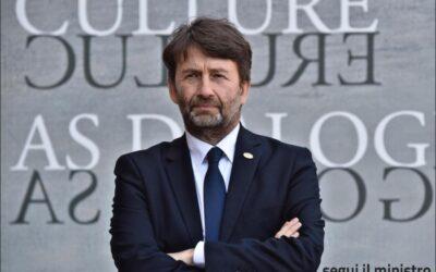 """Editoria e spettacolo, Franceschini: """"Forte impegno del Governo"""""""