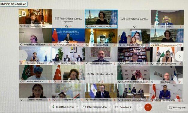 G20 Cultura, i valori universali della cultura fondamenta della rinascita