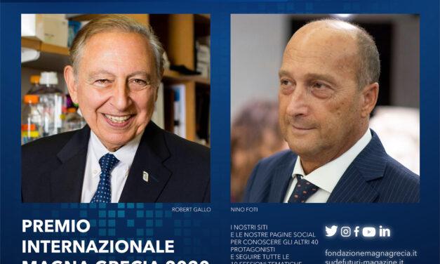 #UNLOCK_IT: AL VIROLOGO ROBERT GALLO IL PREMIO INTERNAZIONALE MAGNA GRECIA