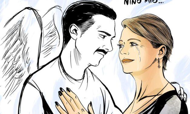 L'omaggio dell'artista reggino Antonio Federico a Nino Candido