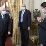 Crisi di Governo, il Presidente Mattarella ha ricevuto il Presidente del Consiglio Conte