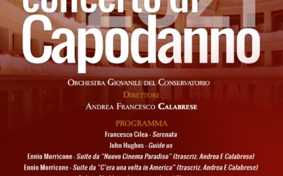 Teatro Francesco Cilea di Reggio Calabria, concerto dell'orchestra giovanile del Conservatorio