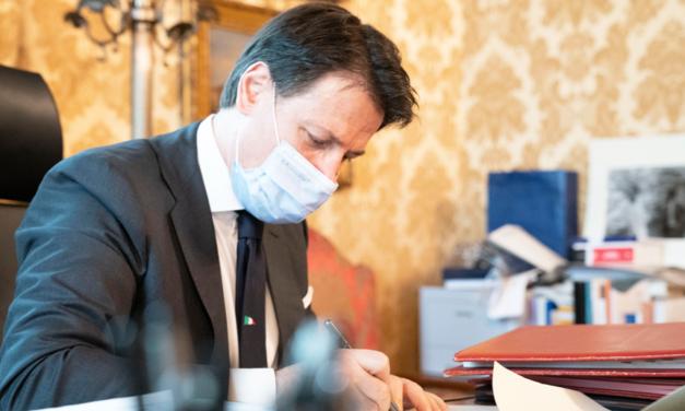 Coronavirus, il Presidente Conte firma il Dpcm del 14 gennaio 2021