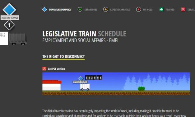 Una legge europea per il diritto alla disconnessione