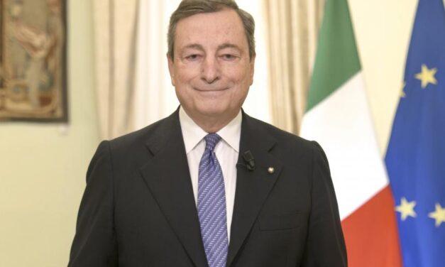 Draghi alla Conferenza 'Verso una Strategia Nazionale sulla parità di genere'
