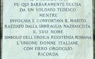 L'ANPI di Reggio Calabria ricorda Teresa Talotta Gullace uccisa a Roma il 3 marzo 1944