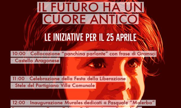 Anpi, le iniziative del 25 APRILE a Reggio Calabria e nei Comuni della Città Metropolitana