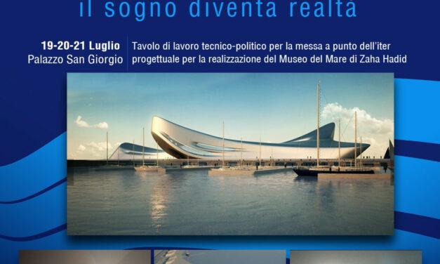 Reggio Calabria, Museo del Mare: tre giorni dedicati al progetto di Zaha Hadid