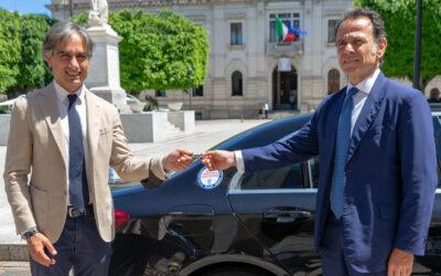 Reggio Calabria primo Comune a ricevere un'auto sottratta alla criminalità
