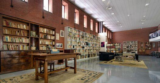 Sala dedicata a Italo Calvino nella Biblioteca nazionale di Roma