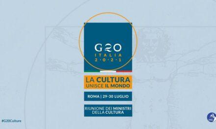 G20, FRANCESCHINI: RENDERE PERMANENTE LA MINISTERIALE CULTURA, TEMA FONDAMENTALE PER CRESCITA SOSTENIBILE