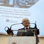 Mattarella a Trento per il conferimento della Laurea a titolo d'onore ad Antonio Megalizzi