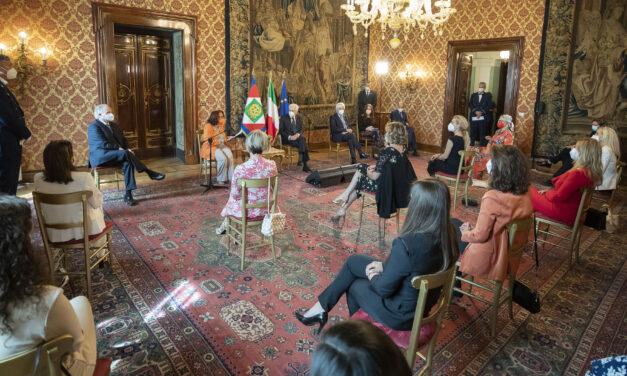 Al Quirinale le vincitrici della XXXIII edizione del Premio Marisa Bellisario